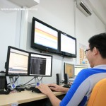 Monitoring LCDs @ Working Area